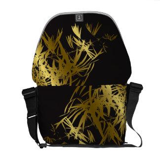 Le bambou d'or laisse à zen le sac de nature d'art sacoche
