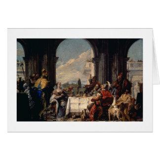 Le banquet d'Anthony et de Cléopâtre, c.1744 Cartes