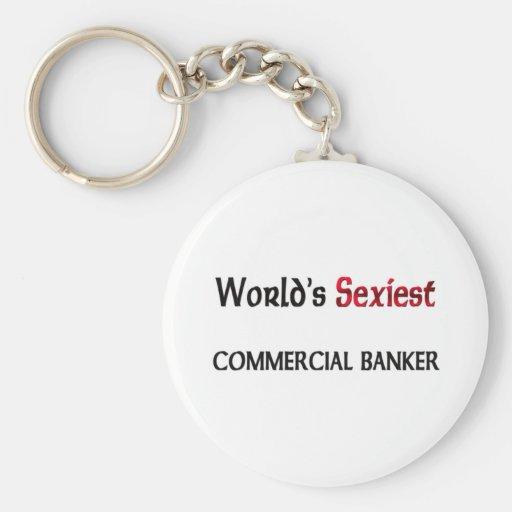 Le banquier commercial le plus sexy du monde porte-clefs