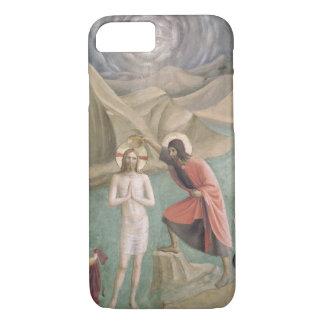 Le baptême du Christ, c.1438-45 (fresque) Coque iPhone 7