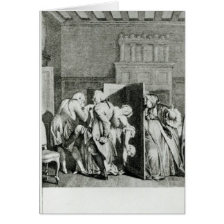 Le baron… Candide salué Carte De Vœux