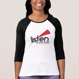 Le base-ball adapté des femmes de LTYM [courses T-shirt