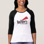 Le base-ball adapté des femmes de LTYM [courses TR T-shirt