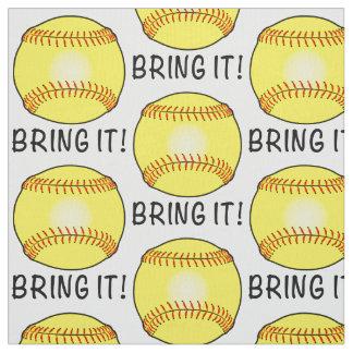 Le base-ball : Apportez-le Tissu