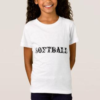 Le base-ball de T-SHIRT de FILLES
