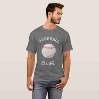 Le base-ball est base-ball de la vie - tee - shirt t-shirt