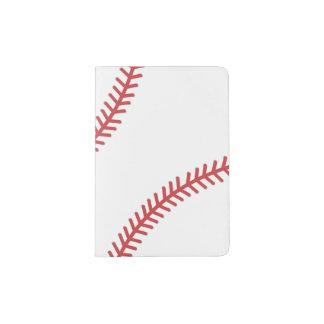 Le base-ball folâtre la couverture de passeport protège-passeport