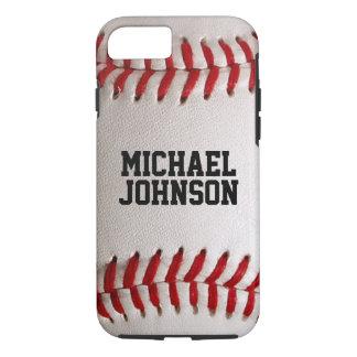Le base-ball folâtre la texture avec le nom coque iPhone 7