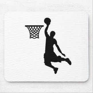 Le basket-ball est de grands sports tapis de souris