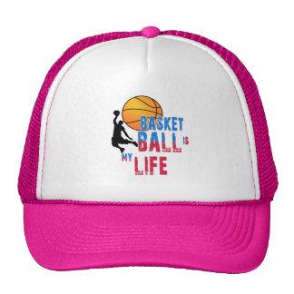 Le basket-ball est ma vie casquettes