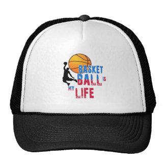 Le basket-ball est ma vie casquettes de camionneur