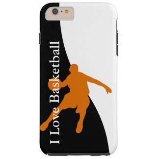 Le basket-ball folâtre le thème coque iPhone 6 plus tough