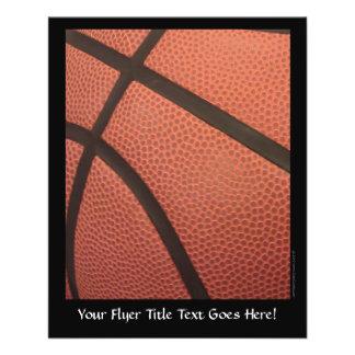 Le basket-ball folâtre l'image prospectus 11,4 cm x 14,2 cm