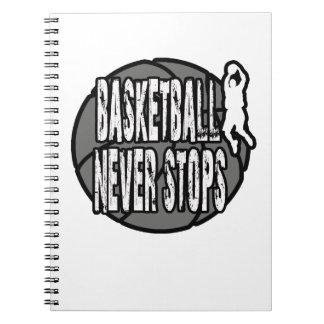 Le basket-ball ne s'arrête jamais carnets