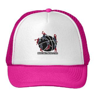 Le basket-ball ne s'arrête jamais casquette