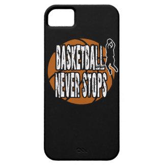 Le basket-ball ne s'arrête jamais coque Case-Mate iPhone 5