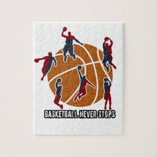 Le basket-ball ne s'arrête jamais puzzle