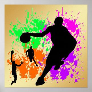 Le basket-ball rêve l'affiche posters
