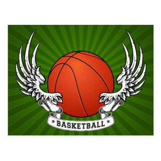 Le basket-ball s'envole la carte postale