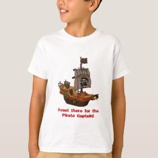 Le bateau de pirate de Buccaneer badine le T-shirt