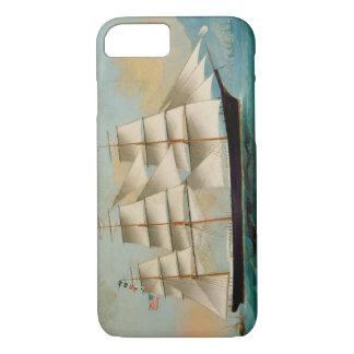 Le bateau Fleetwing, baie de Hong Kong Coque iPhone 7