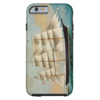 Le bateau Fleetwing, baie de Hong Kong Coque Tough iPhone 6
