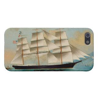 Le bateau Fleetwing, baie de Hong Kong Étuis iPhone 5