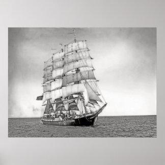 Le bateau L'Avenir Affiches