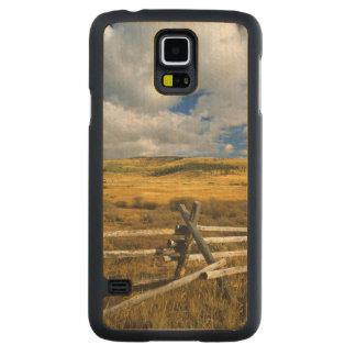 Le bâti Haggin NWR s'approchent de l'anaconda Coque Galaxy S5 En Érable