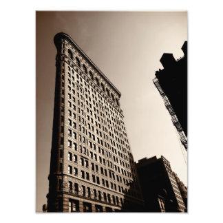 Le bâtiment de Flatiron - New York City classique Photo D'art