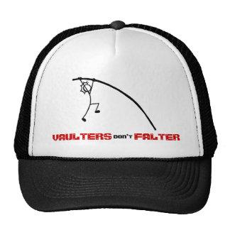 Le bâton avec des sauteurs de sport n'hésitent pas casquette de camionneur