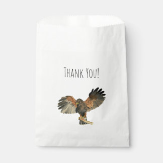Le battement de faucon s'envole la peinture sachets en papier