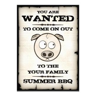 Le BBQ d été a voulu des invitations
