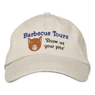 Le BBQ voyage le casquette de sergé