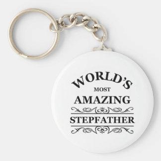 Le beau-père le plus extraordinaire du monde porte-clé rond