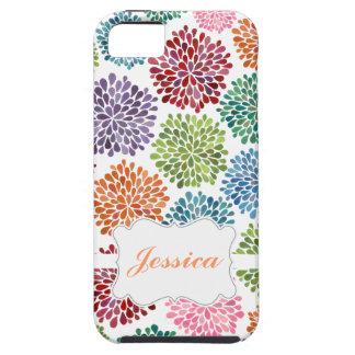 Le beau ressort lumineux fleurit le coque iphone coques Case-Mate iPhone 5