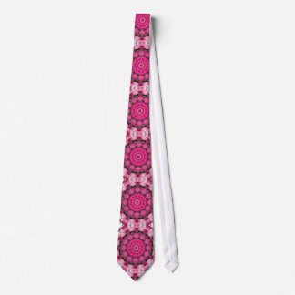 Le beau rose se développe 001F 01, mandala de Cravate