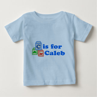 Le bébé bloque Caleb T-shirts