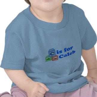 Le bébé bloque Caleb T-shirt