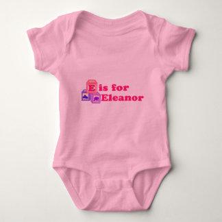 Le bébé bloque Eleanor Body