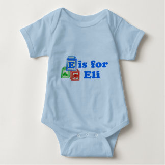 Le bébé bloque Eli T-shirts