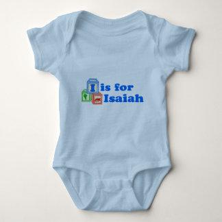 Le bébé bloque Isaïe Body