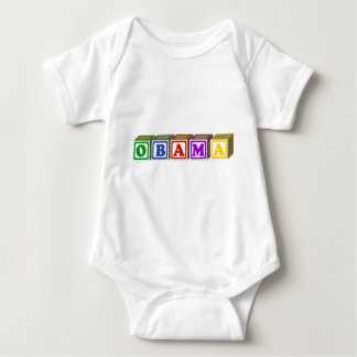 le bébé bloque obama pour les chemises foncées t-shirts
