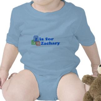 Le bébé bloque Zachary Barboteuses