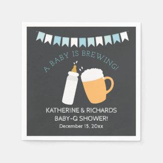 Le bébé de Bébé-q brasse la serviette de douche de Serviette En Papier