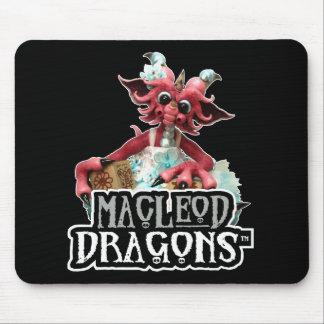 Le bébé de DM bloque le dragon Mousepad Tapis De Souris
