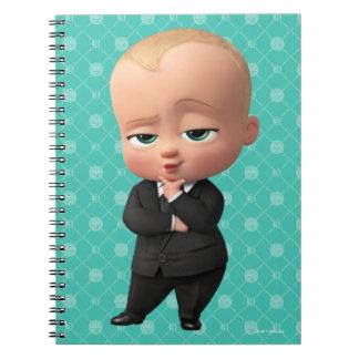 Le bébé de patron | je suis le patron ! carnet à spirale