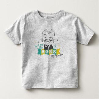 Le bébé de patron | je suis le patron. Je dis. T-shirt Pour Les Tous Petits