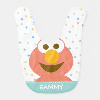 Le bébé d'Elmo   ajoutent votre nom Bavoir
