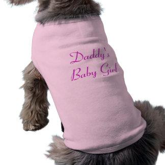 Le bébé du papa t-shirt pour chien